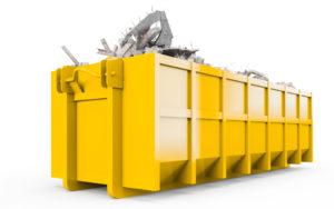 container conteneur déchet liège